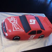 Nascar For our best friend's son's first birthday. His name is Khane (as in Kasey Khane). Kasey Khane's Budweiser car (really...