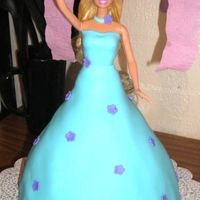 Barbie Cake   My first doll cake.. I made this for my duaghters 3rd birthday :) TFL!