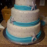 Tiffany Blue, Starfish Cake