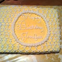 Jennifers_Cake_Full.jpg  This is a Mrs. McQuitty Lemon Chiffon cake. The recipe can be found on this site. It was a recipe that was popular when my mom was a lttle...