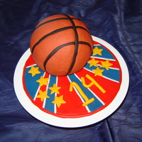 Basketball My son loves playing basketball and for his birthday we gave him a trip to see the Harlem Globetrotters so of course the cake had to be a...