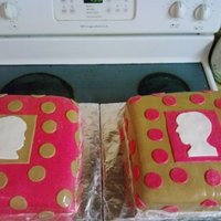 Mom And Daughter Profile Cakes