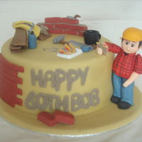 Builder   Builder themed cake.