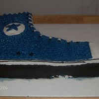 Hi-Topsneaker  I saw this cake on the cover of acd this month and had the oppertunity to make it yesterday for a cook-out we had. It was a big hit. It&#...