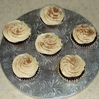 Chocolate Guinness chocolate guinness cupcakes with ganache filling and irish creme butter cream
