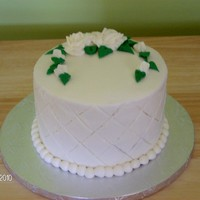 "Renee 6"" Red velvet cake with cream cheese icing & filling"