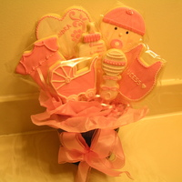 Baby Girl Cookie Bouquet NFSC with Antonia74 RI. TFL and comments welcomed.