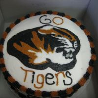 Tiger Mascot Tiger Mascot Cake done for a high school football players birthday! All BC, first real image transfer with piping gel a lot of fun but very...