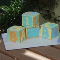 My Sister's Baby Shower Cake!
