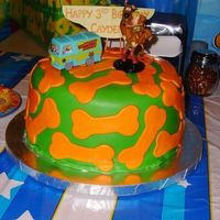 Scooby Doo This was for my nephew's 3rd birthday. I didn't want to do the same ole' scooby doo cake that everyone does, so this was my...