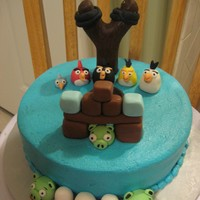 Another Angry Birds Cake!