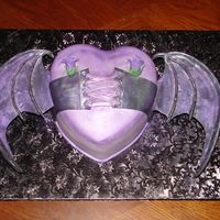 Heart With Bat Wings