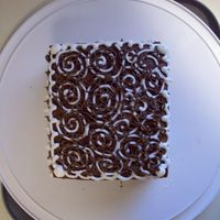Spirals And Sotas   Just having fun practicing new designs with some leftover cake. Thanks for looking!