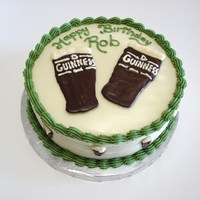 Guinness Birthday Cake Guinness cups made with melted candy from michaelsThanks for looking