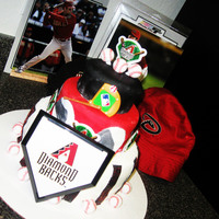 Az Dbacks Cake Not my best but not too bad.