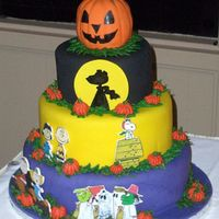 "It's The ""great Pumpkin"" Cake Central The Great Pumpkin rises out of the pumpkin patch and brings toys to all the good girls and boys. I hope I don't get a rock!The cake is..."