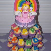 Rainbow Fairy For my baby girl! Made to match partyware