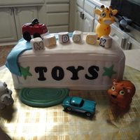 Baby's First Birthday Toy box