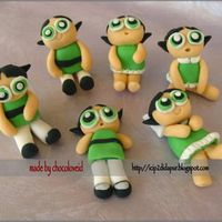 Buttercup Powerpuff Girl Figures