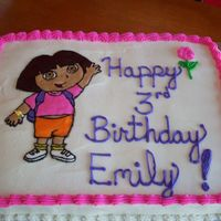 Dora this is my 1st time using the frozen buttercream method- loved it