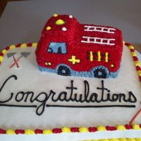 Firetruck i made this 1 for a guy who graduated from firefighter school