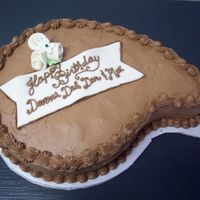 Group Birthday This is a white cake with a light chocolate Bettercream whipped filling (I just added a 1/2 box of instant chocolate pudding to the...