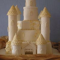 Castle_1.jpg 3 tiers chocolate sponge with hollow pastillage turrets