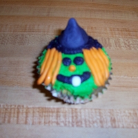 Halloween Cupcakes   icing and fondant