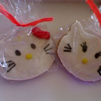 Hello Kitty Cookies Cookies I made for my daughter and her friends