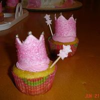 Princess Crowns Cupcakes