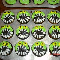 Monster Cupcakes Made these with my husband for the rescue squad that worked his horrific car accident back on 9/4/07. He wanted to help decorate so I let...