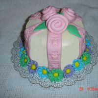 Using Up The Marshmellow Fondant This was a 6 in cake and I made it for a relative in an assisted living. I wanted to use up the marshmellow fondant and so I let my husband...