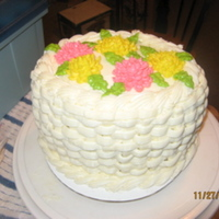 1St Time W/ Basketweave A practice cake for Wilton Course... something or other. I'm just now finally getting around to putting pictures on here. I did this a...