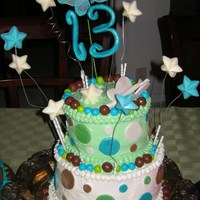 13Th. Birthday Cake