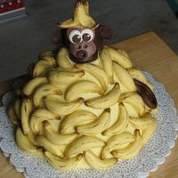 Another Monkey Cake I've been just waiting for an excuse to make this cake, that I've long admired on this site. Chocolate-chocolate chip sour cream...