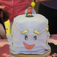 Dora's Backpack I made this for my nieces 2nd Birthday. She loves Dora.