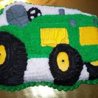 John Deere I done this John Deere cake for a 4 yr. old and done they John Deere Hay Buggy to go with it .You will have to look up the John Deere Hay...