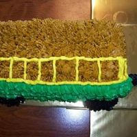 John Deere Hay Buggy This was a small cake to add for a few people that was added on to the John Deere cake I madeThis is a cart or buggy what ever you think it...
