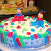 Another Clown Cake This is the second attempt...