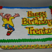 Caillou Birthday For a friends son