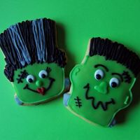 Monster Mash These were really fun to do! Sugar cookie with Toba's glaze. TFL : )