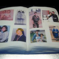 Photo Album I made this cake for my husbands 40th birthday. It's all edible.