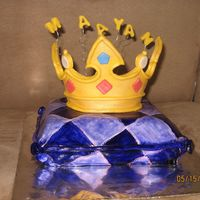 My 1St Pillow Cake satin ice