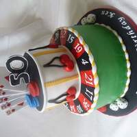 Casino Cake all fondant and gumpaste decorations