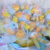 Rubber Ducky Cupcake Bouquet