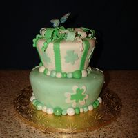 Irish.jpg Made this for a one year old that was born on St.Patrick's Day!!