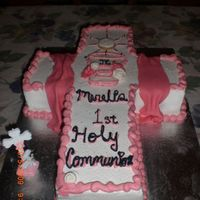 My Daughters 1St Communion Cake