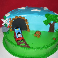Thomas Thomas Birthday cake for my Godson (5Yrs)