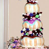 Threedonuts Wedding Cake Wedding Cake inspired by Collete Peters