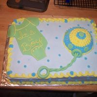 My First Baby Shower Cake!!! I just want to thank everybody that puts there pictures on here. I was able to do this from all the wonderful ideas I saw on all the...
